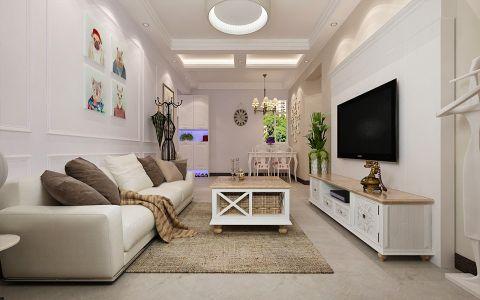 2020简欧80平米设计图片 2020简欧二居室装修设计