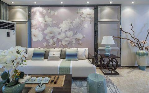 2018现代中式100平米图片 2018现代中式三居室装修设计图片