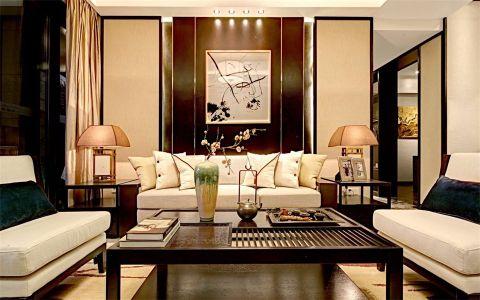 2019中式150平米效果图 2019中式公寓装修设计
