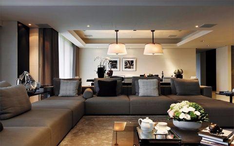 美城悦荣府130平米后现代风格3室2厅2卫装修效果图