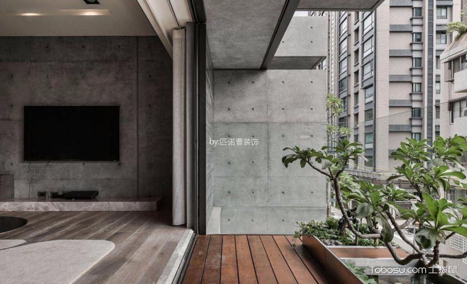 阳台 细节_简约风格二居室装修设计效果图