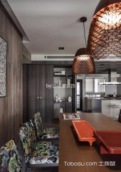 餐厅白色吊顶简欧风格效果图