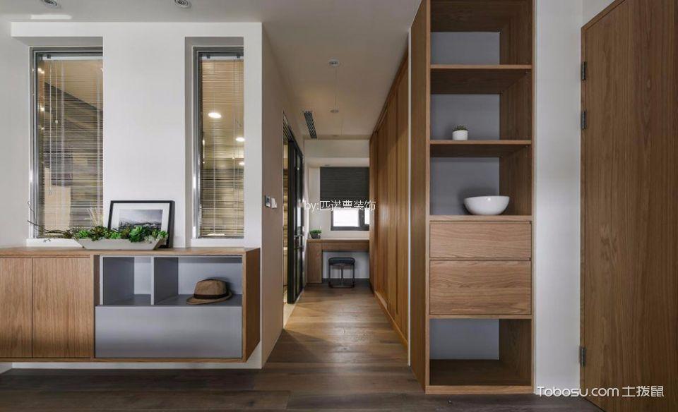 玄关 走廊_简约风格二居室装修设计效果图