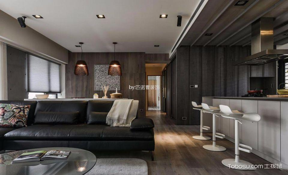 客厅 吧台_简约风格二居室装修设计效果图