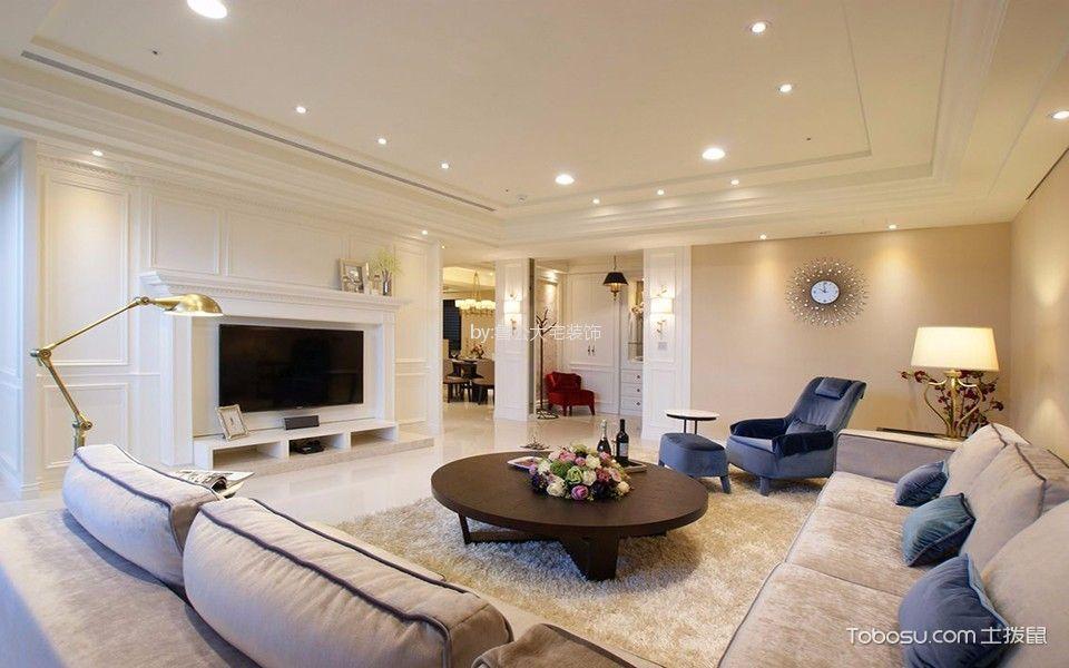 海尔云世界140平三居室美式风格装修效果图