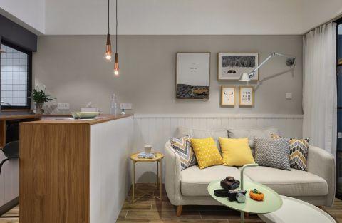中山万豪220平方米简约欧式风格三居室装修效果图