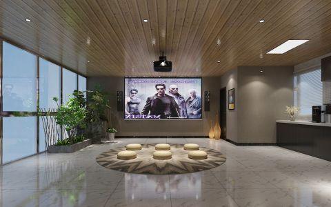 客厅背景墙后现代风格装饰图片
