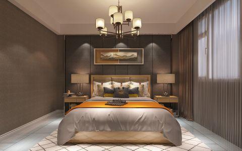 卧室背景墙后现代风格装修设计图片