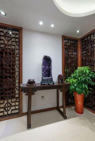 玄关博古架中式古典风格装饰效果图