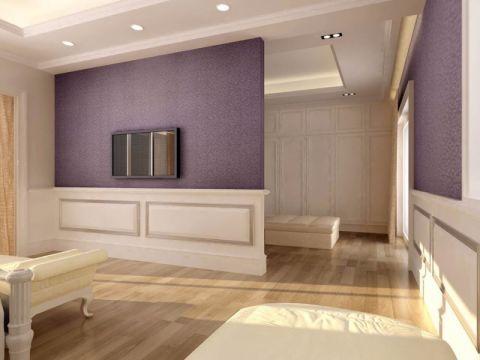 卧室隔断简欧风格装饰设计图片