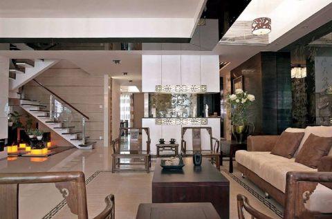 客厅细节中式风格装潢设计图片