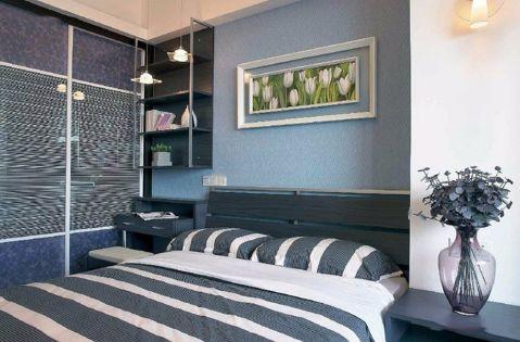 卧室榻榻米中式风格效果图