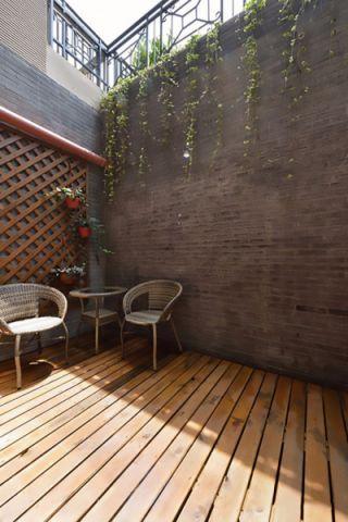 花园细节现代中式风格装饰图片
