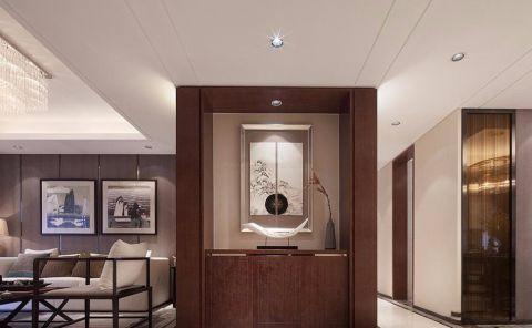 星辰园120平现代中式三居室装修效果图