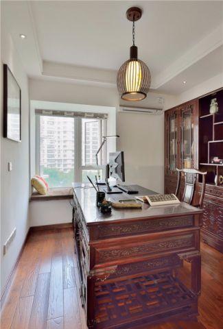 书房橱柜中式古典风格装饰设计图片