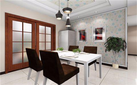水岸豪庭现代简约风格四居室装修效果图