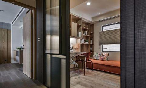 简约风格二居室装修设计效果图