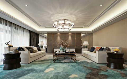 滨江奥城100平方中式风格三居室装修效果图