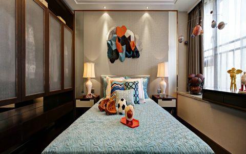 儿童房窗帘中式风格装饰图片