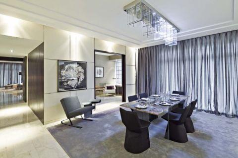 餐厅细节现代简约风格装修设计图片