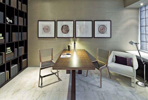 书房细节现代简约风格装饰设计图片