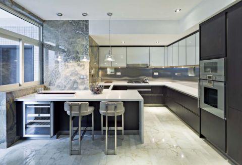 厨房细节现代简约风格装潢设计图片