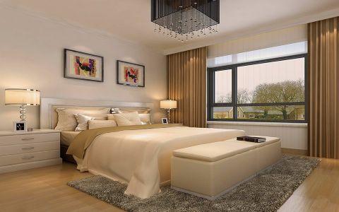 卧室细节简约风格效果图