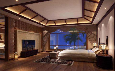 卧室细节新中式风格装修设计图片