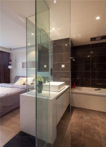 卧室隔断简欧风格装修效果图