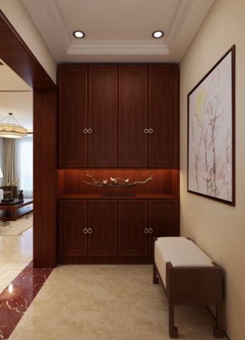 玄关橱柜新中式风格装修设计图片