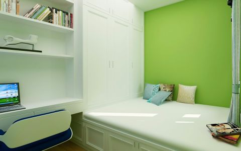 卧室榻榻米地中海风格装饰图片