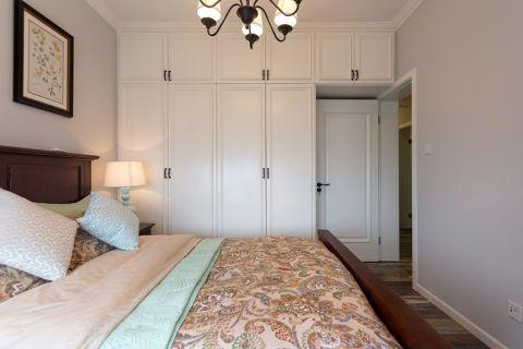 卧室衣柜美式风格装潢效果图