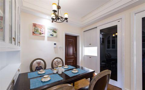 餐厅照片墙美式风格装饰设计图片