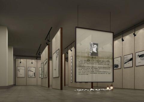 60万瑞光艺术馆展厅装修效果图