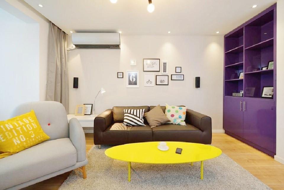 2室1卫1厅80平米简欧风格