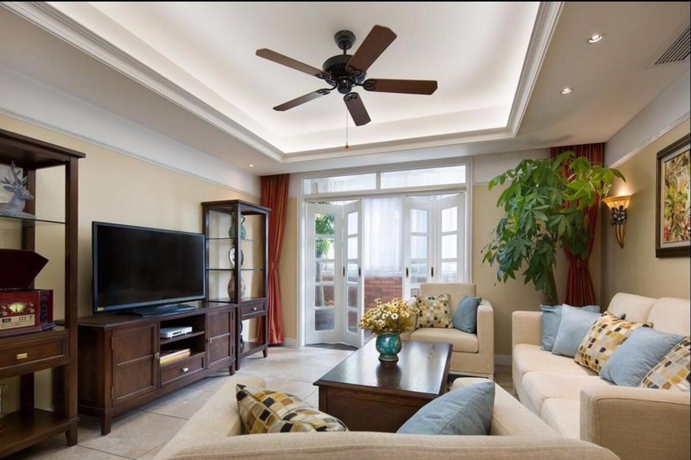 3室1卫2厅112平米美式风格