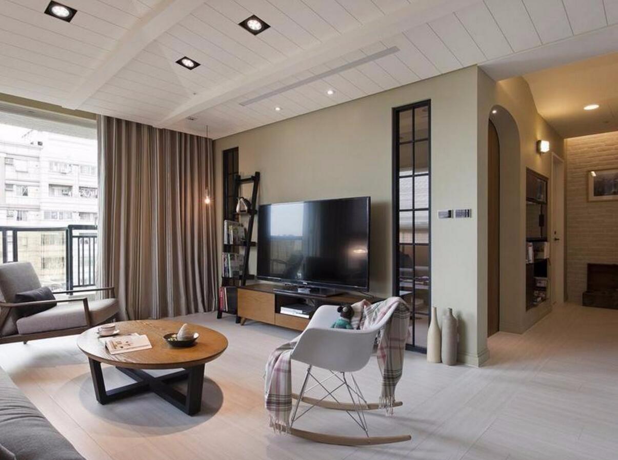 2室2卫2厅115平米北欧风格