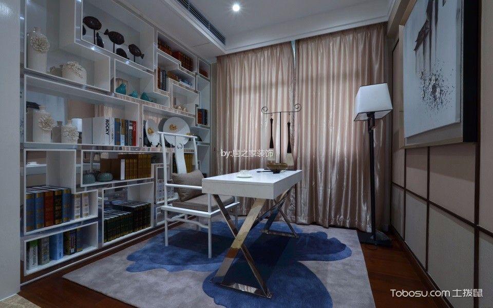 中粮鸿运115㎡新中式风格3室2厅2卫装修效果图