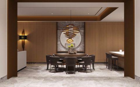 餐厅背景墙简约风格装修效果图