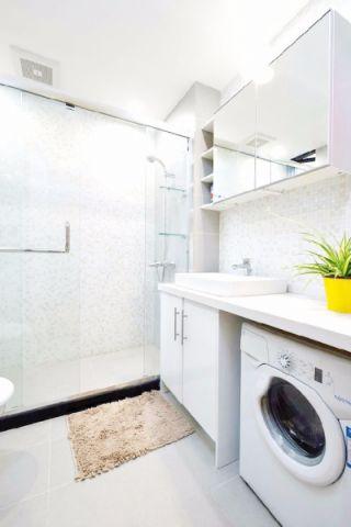 卫生间细节简欧风格装潢效果图