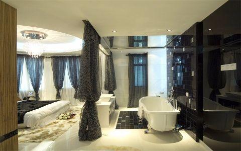 卫生间照片墙现代风格装潢图片