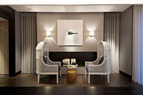 客厅细节欧式风格装潢设计图片