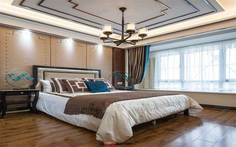 卧室吧台新中式风格装修设计图片