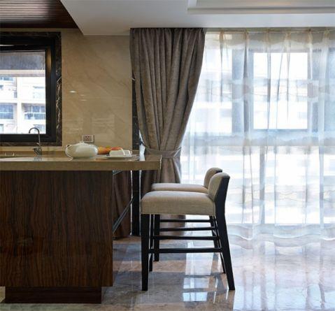 厨房厨房岛台中式风格装饰设计图片