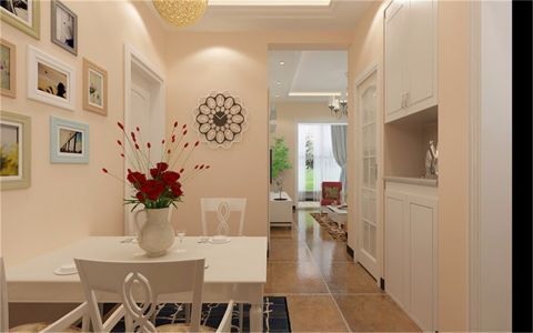 餐厅走廊现代风格装饰效果图