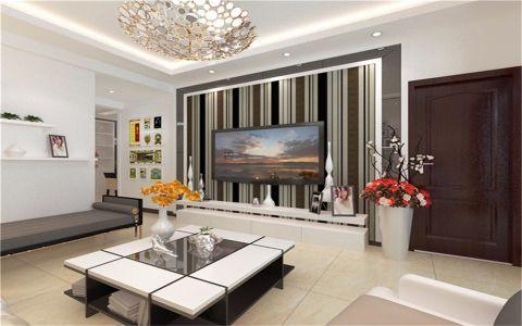 凯越星城90平米现代简约两居室装修效果图