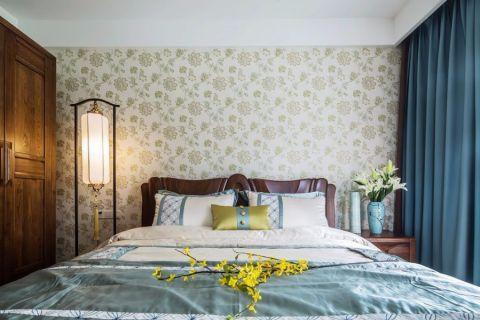 卧室榻榻米新中式风格装修设计图片