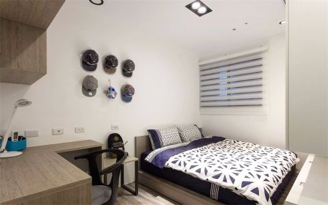 2021美式120平米装修效果图片 2021美式三居室装修设计图片