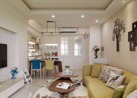 2021美式110平米装修图片 2021美式三居室装修设计图片