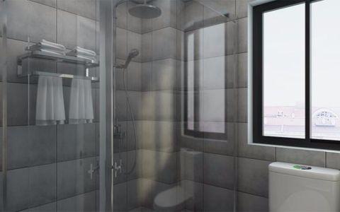 卫生间隐形门现代风格装修图片